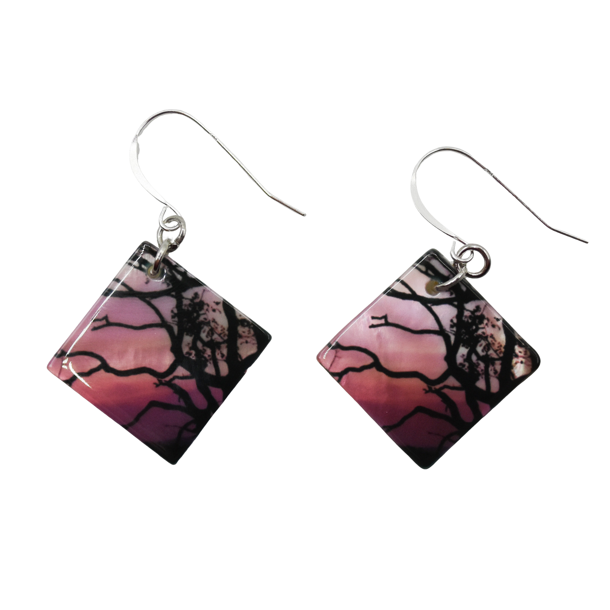 Pink Sky of Wonder Earrings