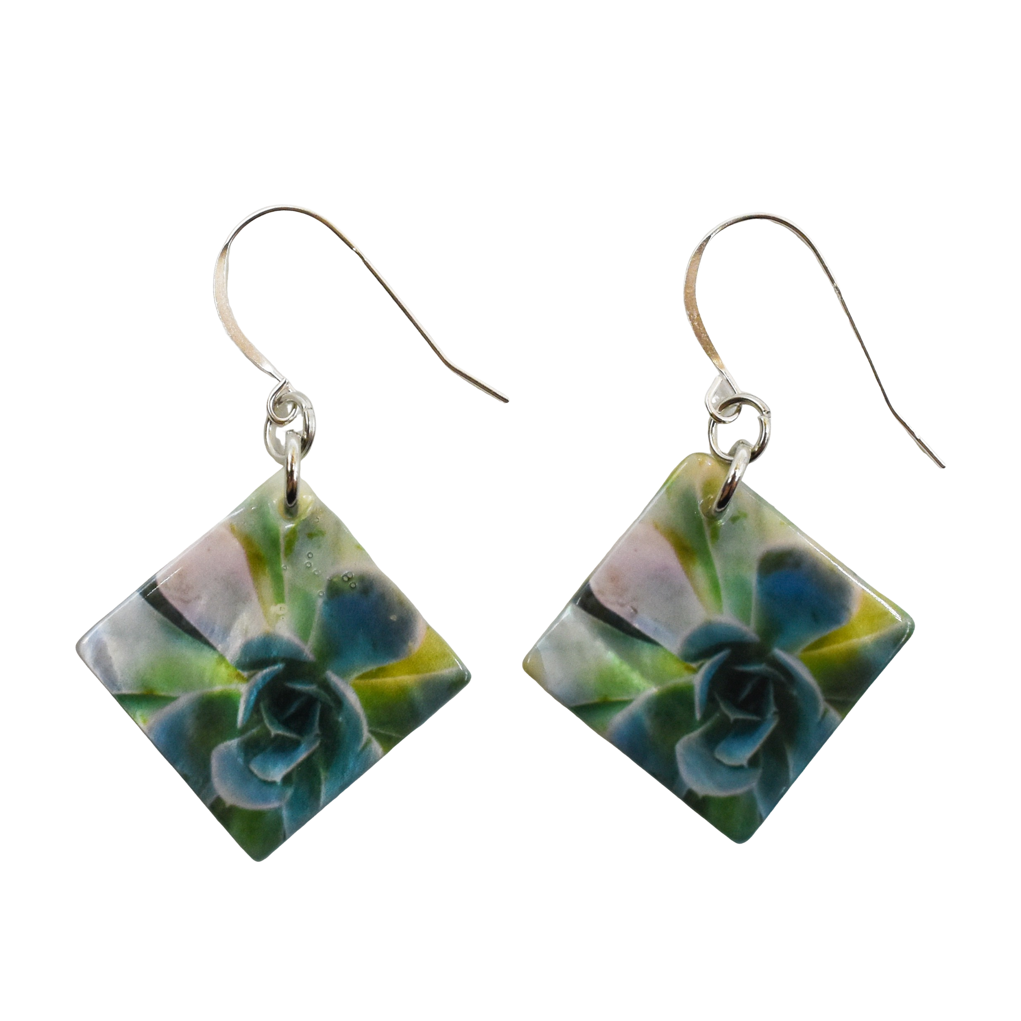 Enchanted Succulent Earrings - Wear the Wonder