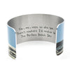 Haiku inside Beach Day Cuff Bracelet | Wear the Wonder