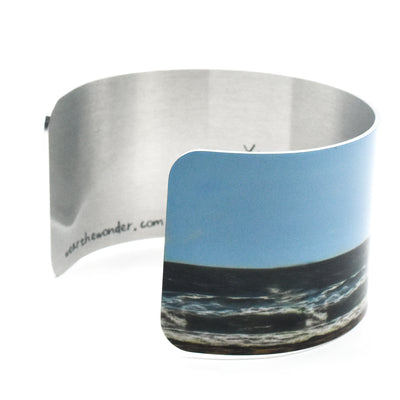 Side view 2 of Beach Day Cuff Bracelet | Wear the Wonder