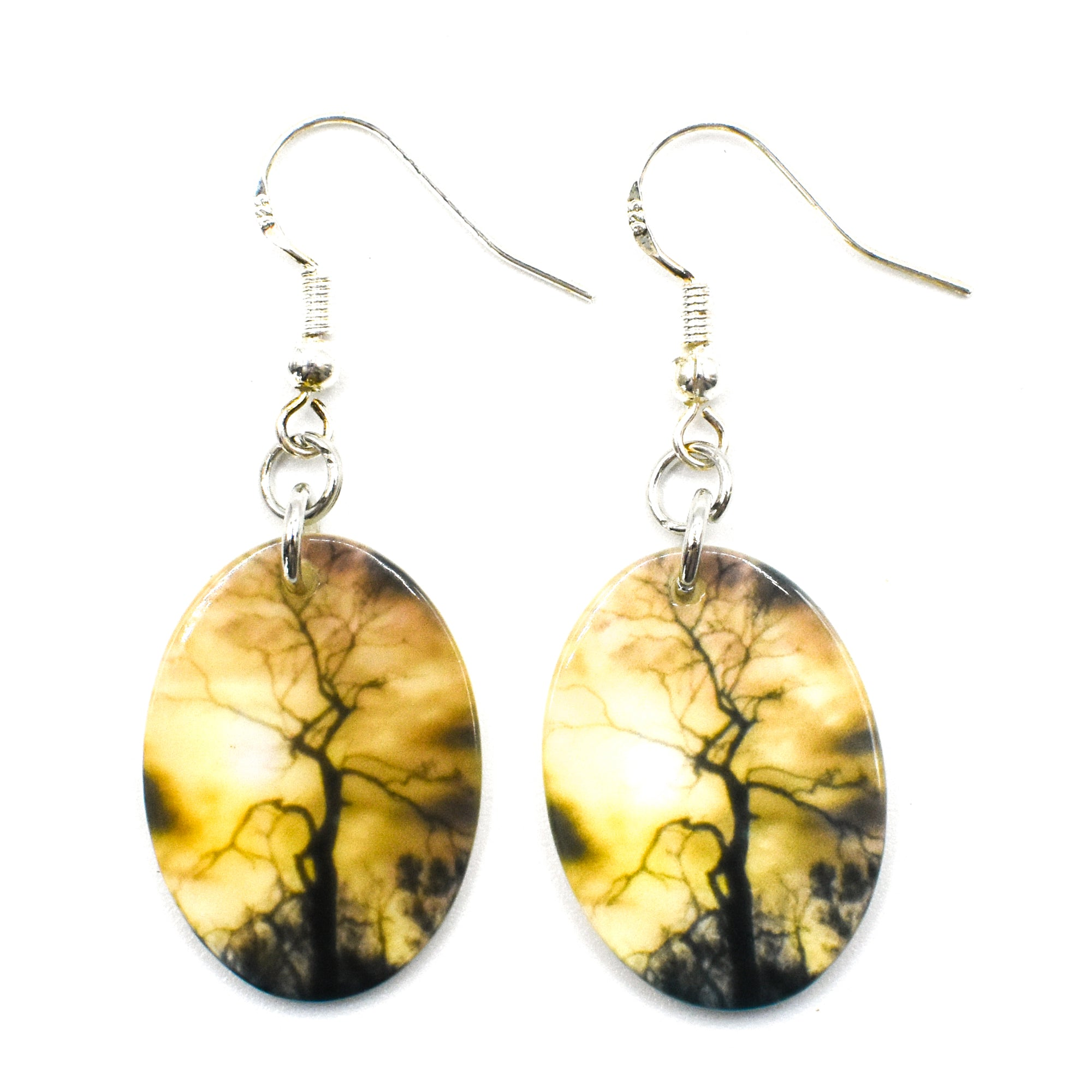 Standard view of celestial tree earrings | Wear the Wonder