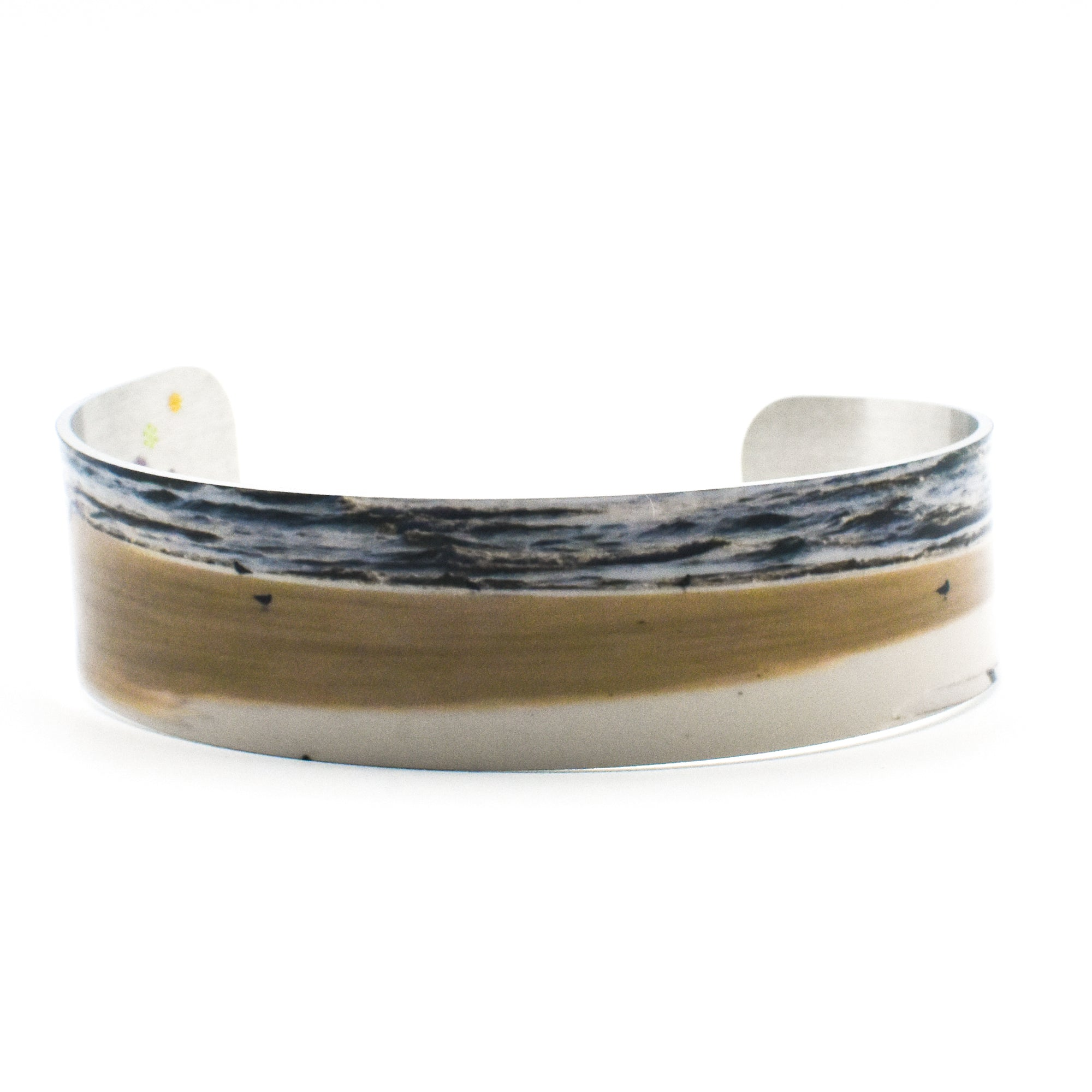 Standard view of Morning Gathering Narrow Cuff Beach Bracelet | Wear the Wonder