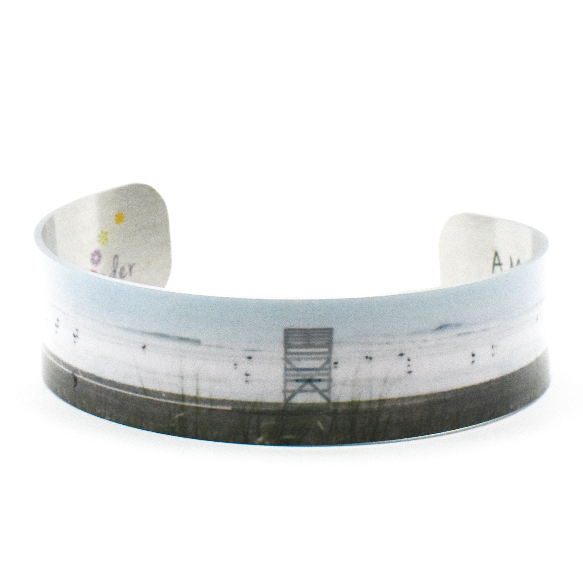 Standard view of Off Duty narrow cuff bracelet | Wear the Wonder