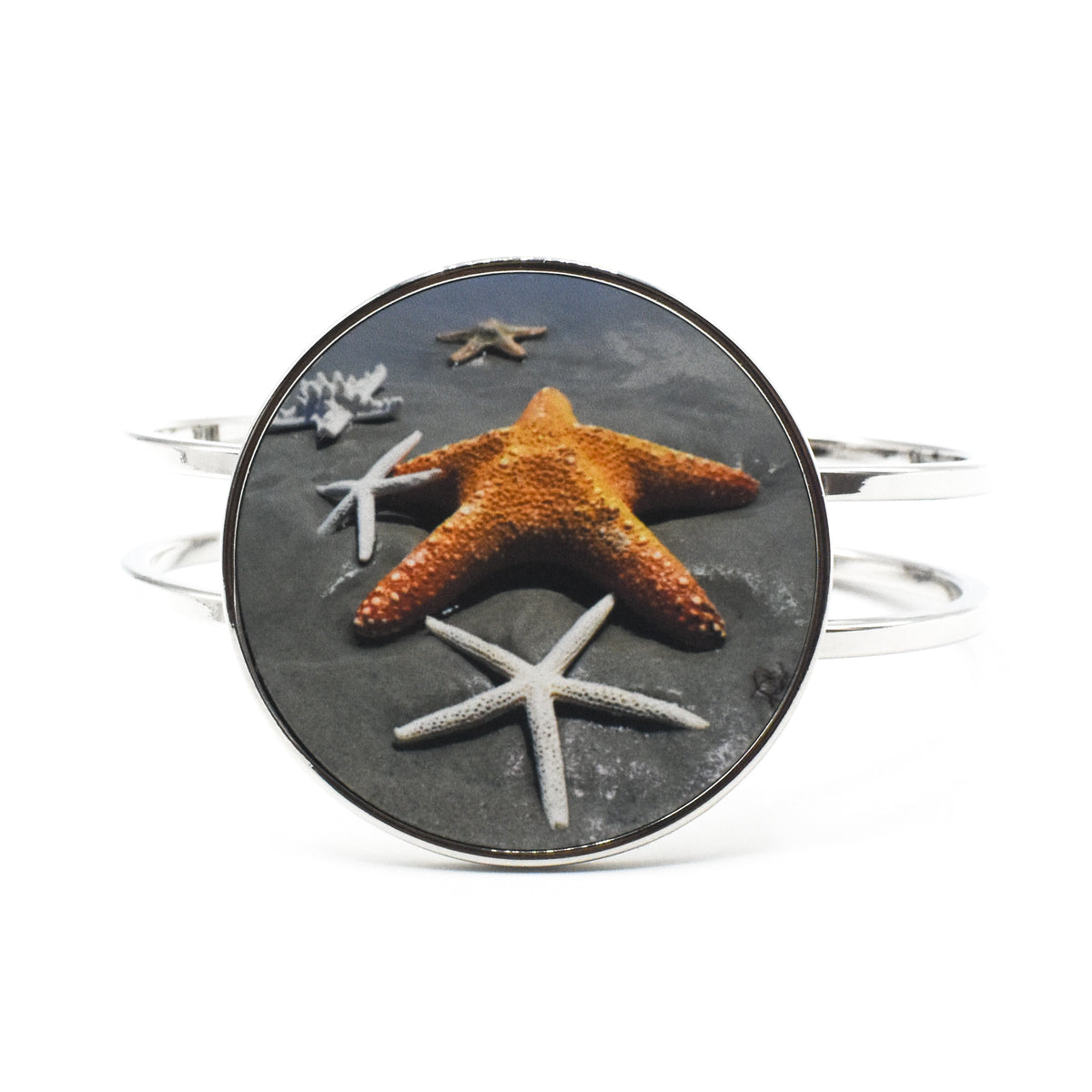 Standard view of full color Starfish Statement Bracelet | Wear the Wonder