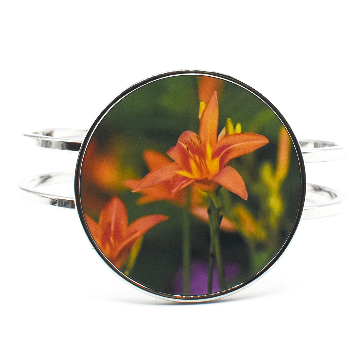 Standard view Day Lily Statement Bracelet | Wear the Wonder