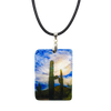 Desert Blues Mother of Pearl Necklace