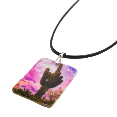 Desert Mirage Mother of Pearl Necklace