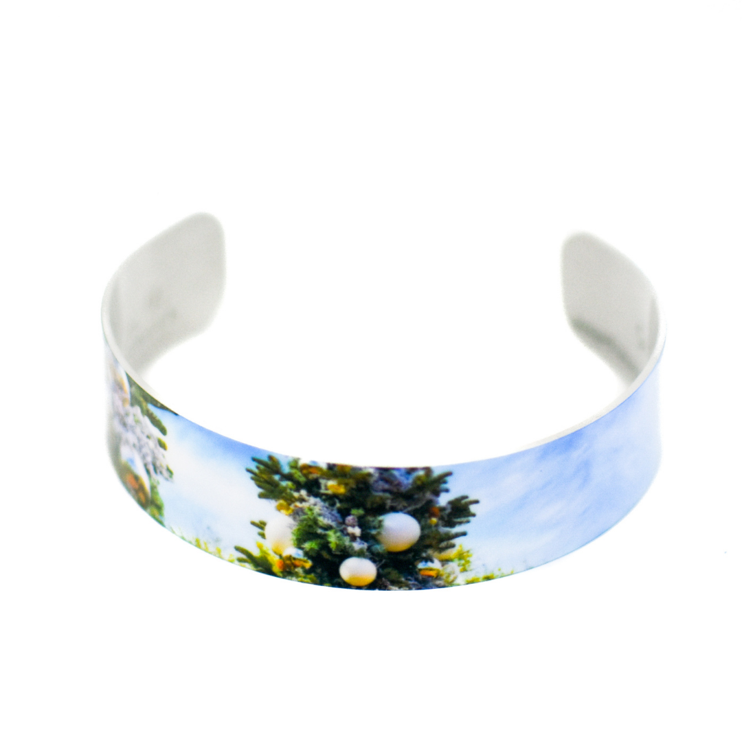 Desert Christmas Narrow Cuff Bracelet | Wear the Wonder