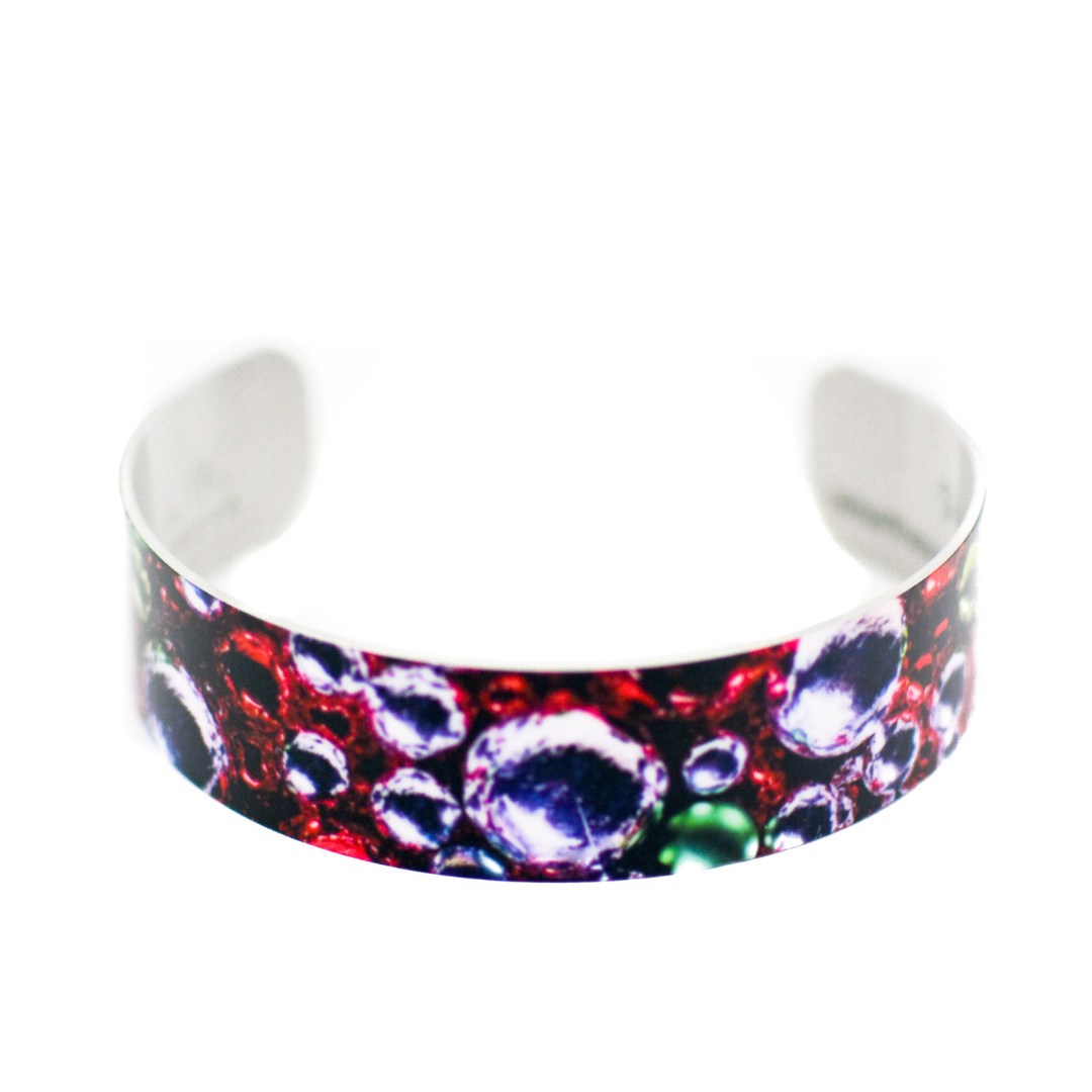 Holiday Sparkle Narrow Cuff Bracelet | Wear the Wonder