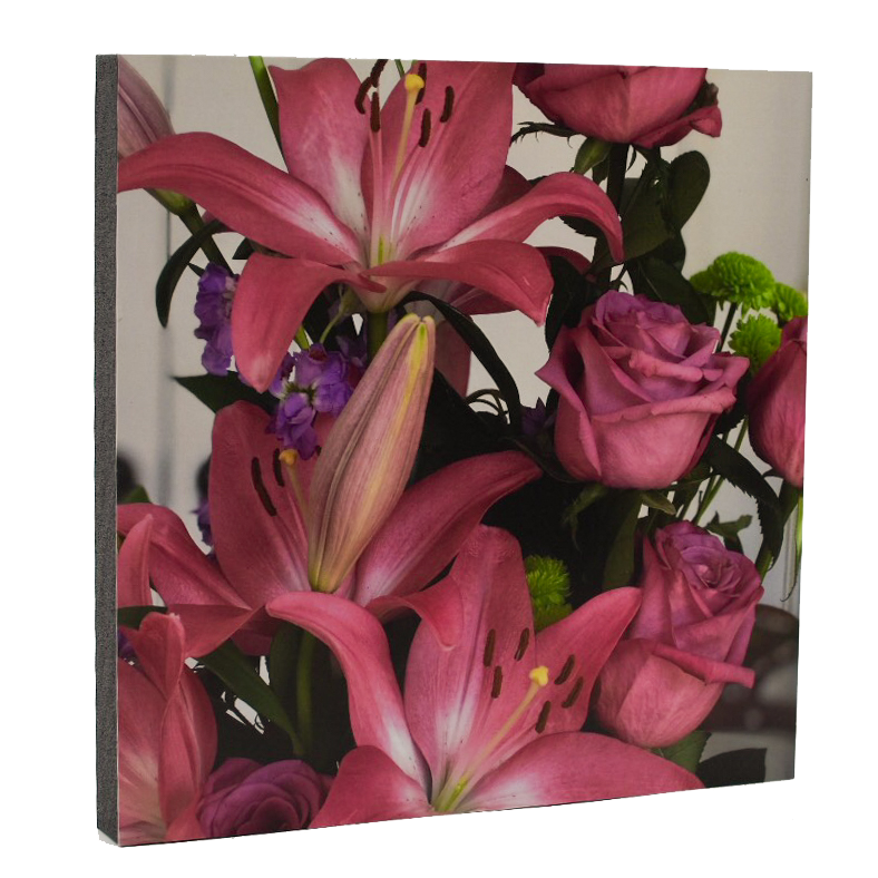 A Lily Bouquet Art Print - Wear the Wonder