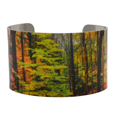 Radiant Forest Cuff Bracelet