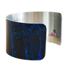 Blue Illumination Cuff Bracelet