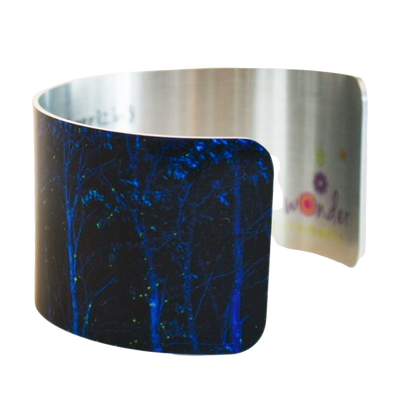 Blue Illumination Cuff Bracelet - Wear the Wonder
