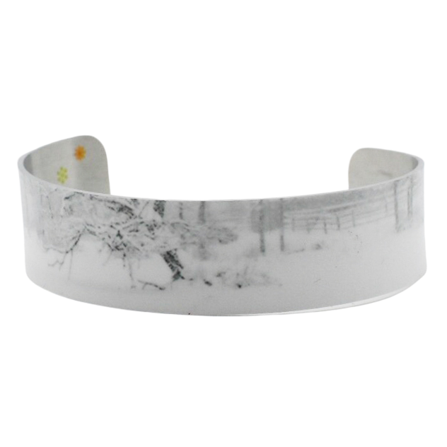 First Snowfall Narrow Cuff Bracelet - Wear the Wonder