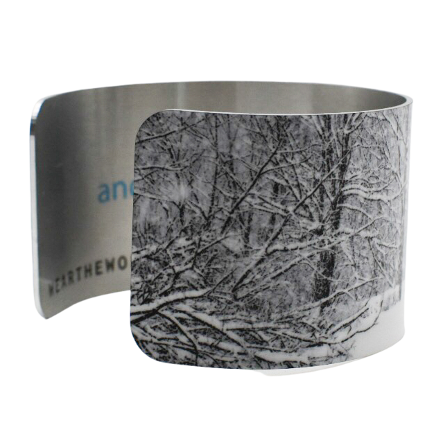 Snowy Pond Cuff Bracelet - Wear the Wonder