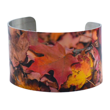 Rusty Zen Wide Cuff Bracelet - Wear the Wonder