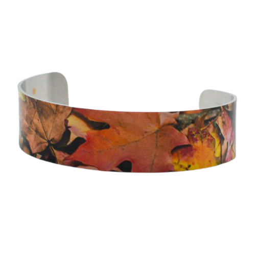 Rusty Zen Narrow Cuff Bracelet - Wear the Wonder