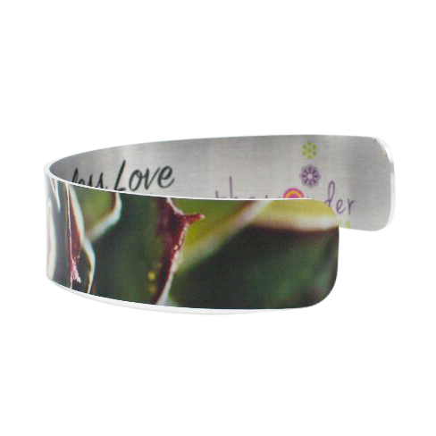 Fiery Succulent Cuff Bracelet - Wear the Wonder