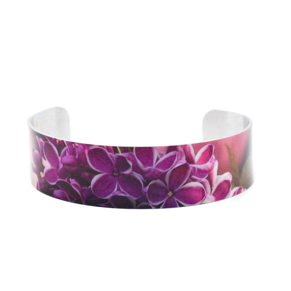 Spring is for Lovers Lilac Cuff Bracelet