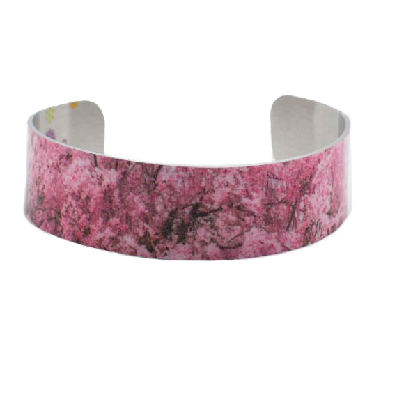 Abundant Sakura Narrow Cuff Bracelet - Wear the Wonder