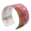 Weeping Cherry Blossom Cuff Bracelet