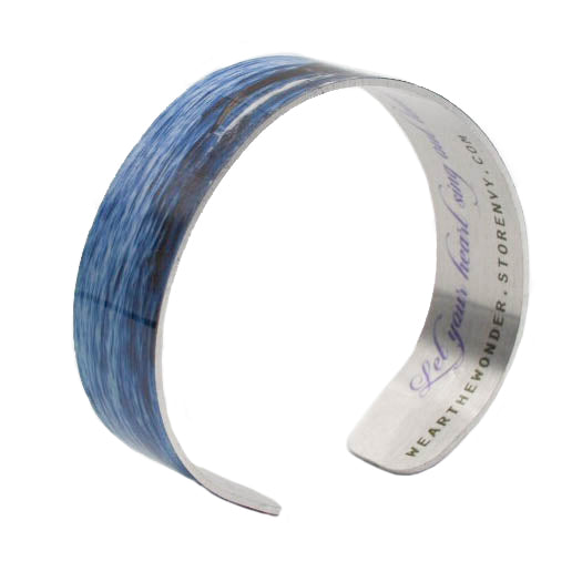 Humpback Song Narrow Cuff Bracelet - Wear the Wonder