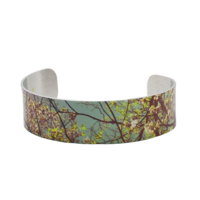 Dogwoods Aglow Cuff Bracelet - Wear the Wonder