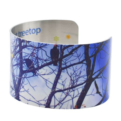 Up in the Treetops Cuff Bracelet - Wear the Wonder