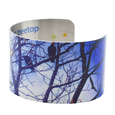 Up in the Treetops Cuff Bracelet