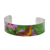 Butterfly Echinacea Narrow Cuff Bracelet - Wear the Wonder