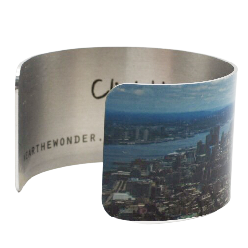 Climb Higher, See Forever Cuff Bracelet - Wear the Wonder