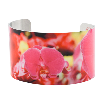 Orchid Fascination Cuff Bracelet