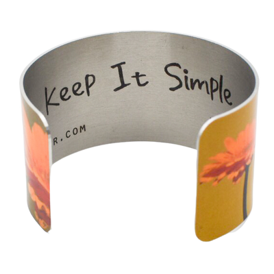 Keep it Simple Daisy Cuff Bracelet - Wear the Wonder