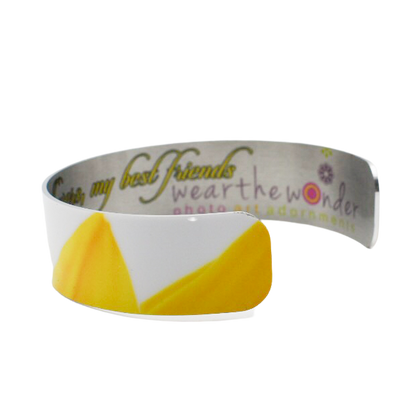 Sun Petals Narrow Cuff Bracelet - Wear the Wonder