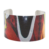 Red Multi Graffiti Cuff Bracelet - Wear the Wonder