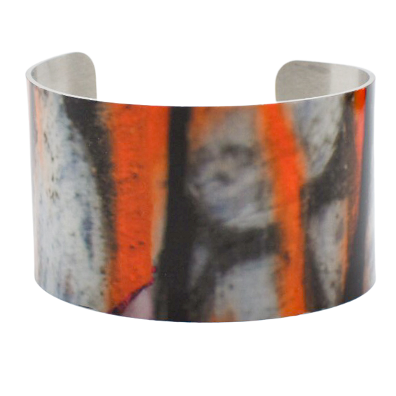 Line of Fire Graffiti Cuff Bracelet