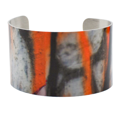 Line of Fire Graffiti Cuff Bracelet - Wear the Wonder
