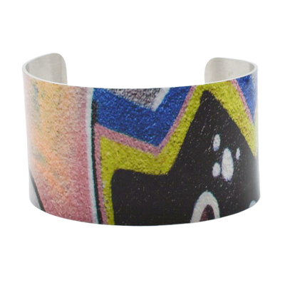 Zig Zag Graffiti Cuff Bracelet - Wear the Wonder