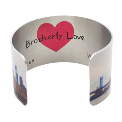 Brotherly Love Cuff Bracelet