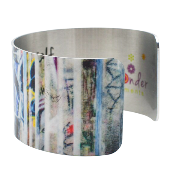 Express Yourself Wide Cuff Bracelet - Wear the Wonder