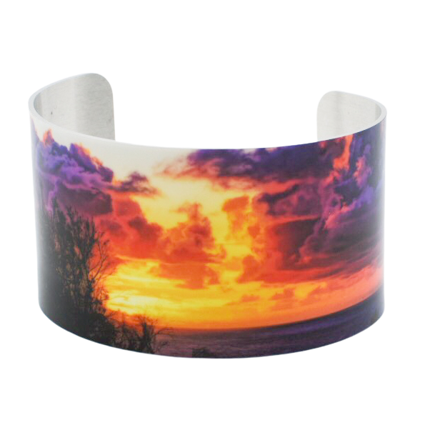 Rapa Nui Explora Sunrise Cuff Bracelet - Wear the Wonder