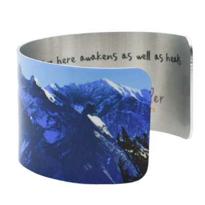 Towers of Azure Cuff Bracelet