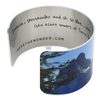 Towers of Azure Cuff Bracelet - Wear the Wonder
