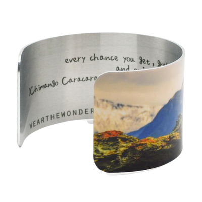 Resting at the Edge of the World Cuff Bracelet - Wear the Wonder