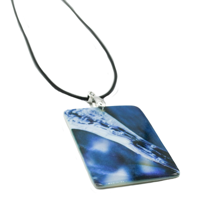 Ice Queen Mother of Pearl Necklace