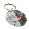 Angels Near Acrylic Round Keychain - Wear the Wonder