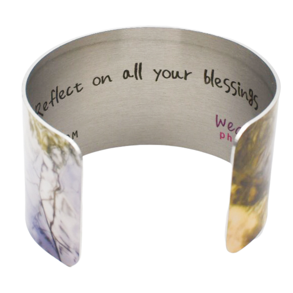 Reflective Masterpiece Cuff Bracelet - Wear the Wonder