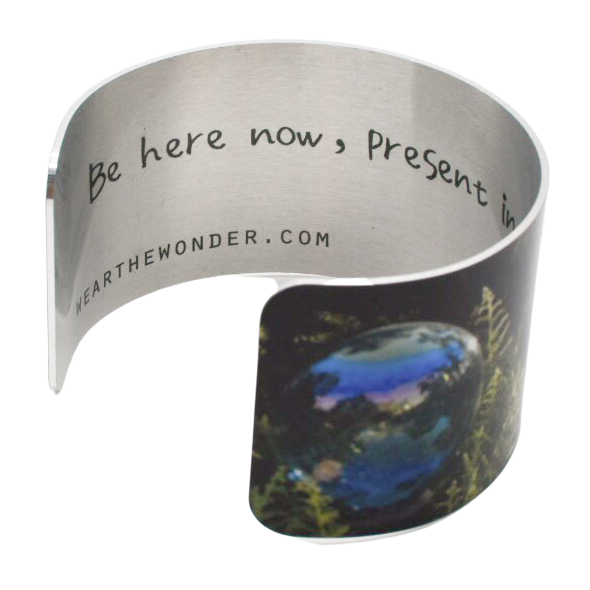 Be Present Cuff Bracelet - Wear the Wonder