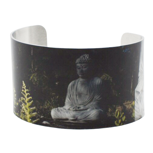 Be Here Now Buddha Cuff Bracelet