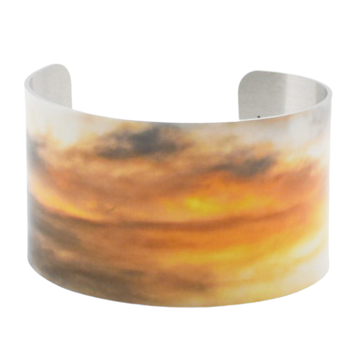 Peaceful Oblivion Cuff Bracelet
